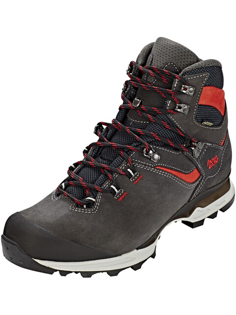 Hanwag Tatra Light GTX Shoes Men asphalt/red